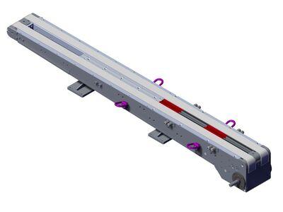 Toothed belt conveyor