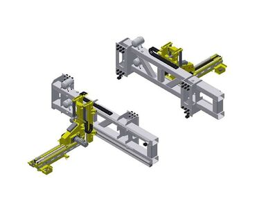 High-Speed Hotforming Linearfeeder (HFF)